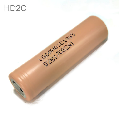 LG HD2C 18650 Battery 2100mAh Flat Top High Drain Hybrid IMR 3.7V