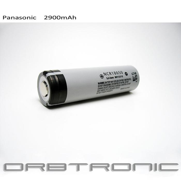18650 Battery li-ion Cell Panasonic Rechargeable 2900mAh NCR18650 3.7V-3.6V