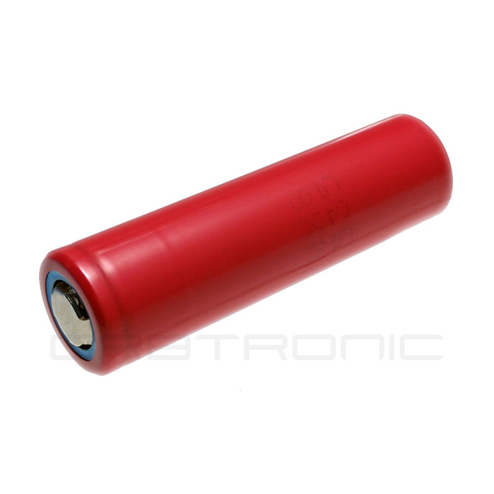 18650 Battery Sanyo-Panasonic UR18650WX IMR Li-ion Rechargeable 3.7V High Drain Flat Top