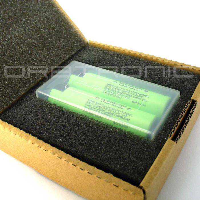 Panasonic NCR18650PF 18650 10 Amp. 2900mAh Hybrid IMR (NCR) Li-ion Rechargeable Battery - Flat Top - High Drain