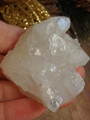 Gorgeous Calcite With Quartz Druzy Frosting & White Apophyllite Inclusions From India