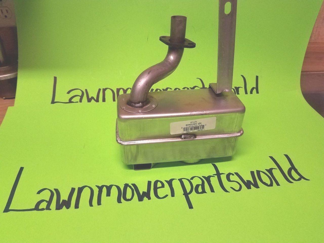 craftsman husqvarna poulan mower kohler engine muffler 159420 rh lawnmowerpartsworld com