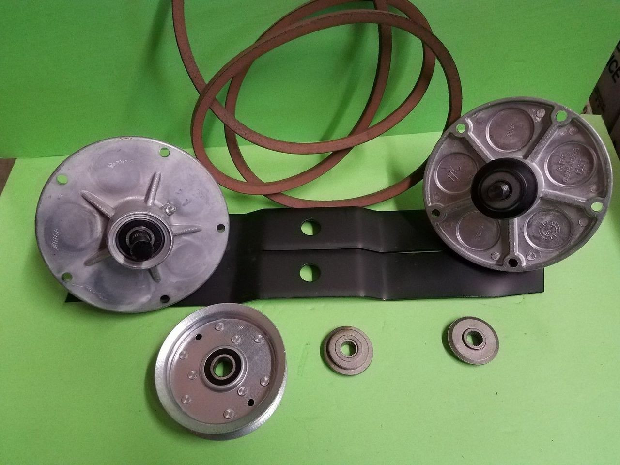 Murray Lawnmower 38 Deck Rebuild Kit Spindles Blades Belt Pulley Lawn Tractor Wiring Harness Adapters