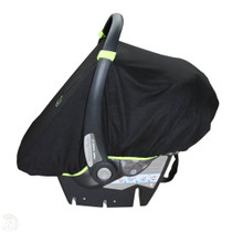 SnoozeShade for Infant Car Seats - Black Snoozeshade