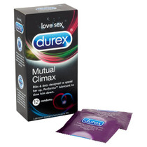 Durex Condoms Mutual Climax - 12 Pack