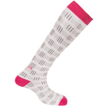 Compression Socks by FITLEGS™ Life, Basket Weave