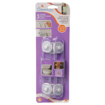 Dreambaby Multi Purpose Latch - 3 Pk