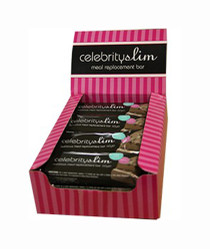 Celebrity Slim Meal Replacement Bar - Fruit & Nut 12Pk