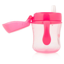 Dr Brown's Pink Training Cup Soft Spout 180Ml Dr Browns