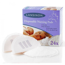 Lansinoh Disposable Nursing Pads - 24