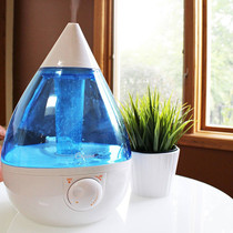 Crane Drop Cool Mist Humidifier - Blue Crane