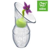Haakaa Silicone Breast Pump Flower Stopper - Purple Haakaa