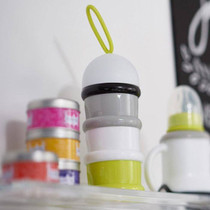 Beaba Stacked Formula Milk/Snack Dispenser - Neon Beaba