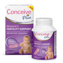Sasmar Conceive Plus Women's Fertility Support 60 Caps