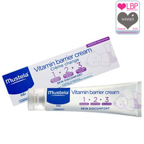 Mustela Baby 1 2 3 Vitamin Barrier Cream 100ml