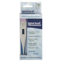 Digital Basal Thermometer For Fertility Charting