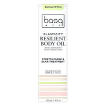 Basq Resilient Body Stretch Mark Oil - Eucalyptus Basq
