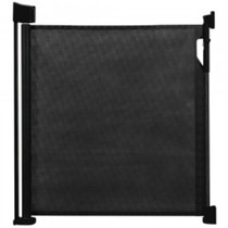 Safetots Advanced Retractable Safety Gate Black Safetots
