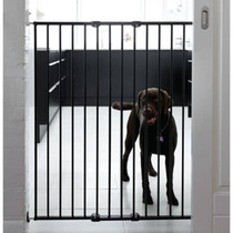 Scandanavian Pet Design Extra Tall Pet Gate Black