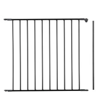 "BabyDan ""EXTRA TALL"" Gate Extension 72cm - Black"