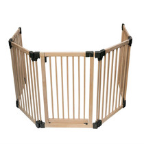 Wooden Multi Panel Multi Use Safety Barrier 96.5 to 256.5cm