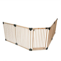 Wooden Multi Panel Multi Use Safety Barrier 96.5 to 416.5cm