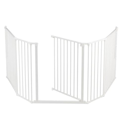 Babydan Configure Flex Xl Hearth Gate White 90 278cm