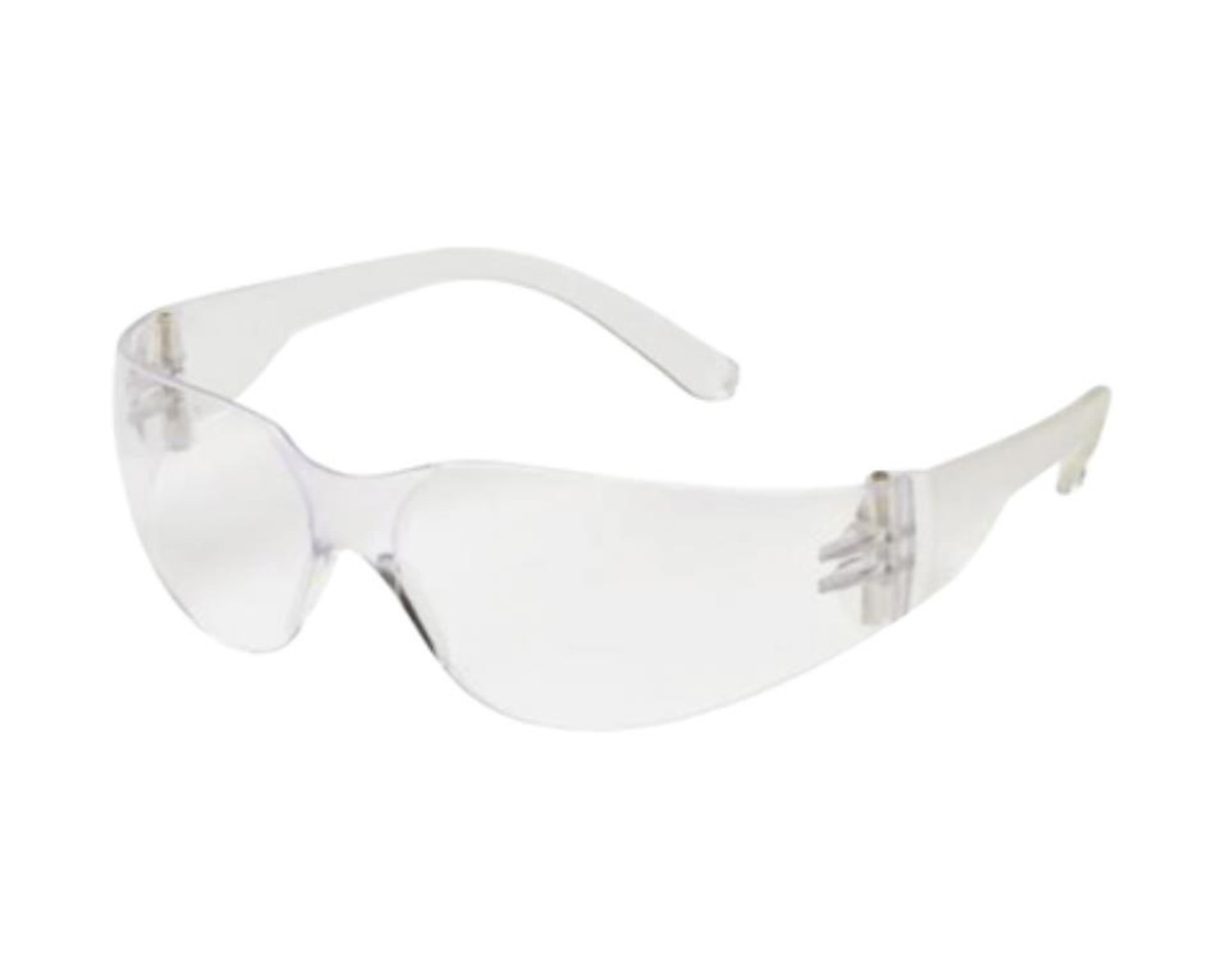 Pyramex Glasses Mini Intruder Shooting Glasses Clear Frame Clear
