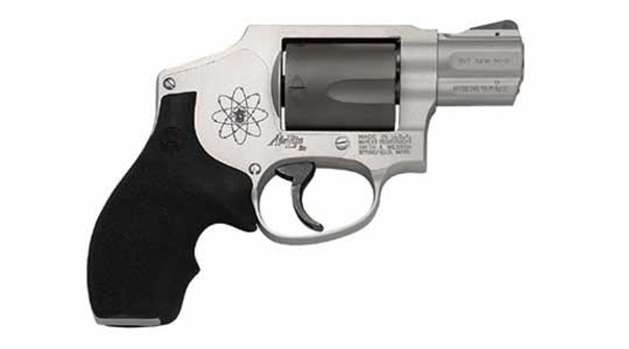 Smith and Wesson 340SCPD Airlite 357Mag, 1 7/8 Inch, Black/Gray ...