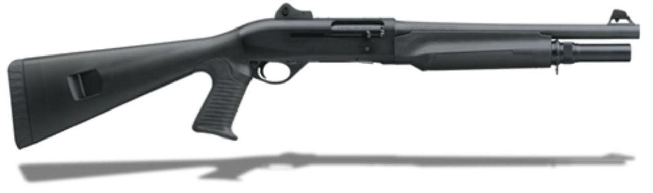 benelli m2 entry 12 ga 14 pistol grip rifle sights black