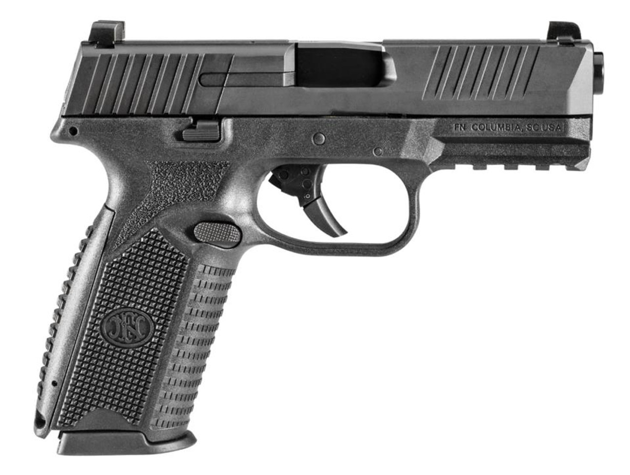 fn 509 double 9mm 4 barrel double action non manual safety 17rd