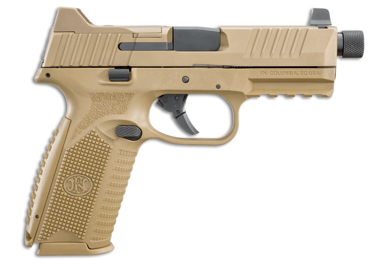 Fn 509t Tactical 9mm 45 Barrel Fde Finish 3 Dot Night Sights 2 Ruger Lcp Extractor Exploded View Diagram