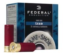 "Federal Game-Shok 12 Ga, 2.75"", 1290 FPS, 1oz, 7.5 Shot, 250rd/Case"