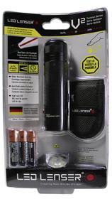 Leatherman LED Lenser V2 LED Flashlight 3 AAA Black