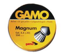 Gamo Magnum Pellets .22 Caliber Spire Point Double Ring 250 Per Tin