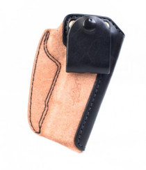 "Kimber IWB Holster Full-size (5"") 1911 Black/natural leather by Mitch Rosen"