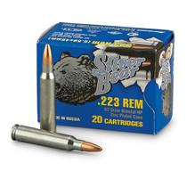 Silver Bear .223 62gr, Bimetal Hollow Point, 20rd/Box, 25 Box/Case