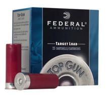 "Federal Top Gun 12 Ga, 2.75"", 900 FPS, 1.125 Ounce, 7.5 Shot, Subsonic, 250rd/Case"