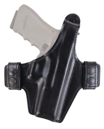 Bianchi 130 Allusion Series Classified Thumb Break Retention Holster Size13 for Glock 17/22/31 Black Right Hand