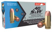 Aguila .40 S&W 180gr, Full Metal Jacket, 50rds