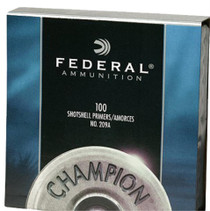 Federal Primers Standard Small Magnum Pistol, 1000 Primers (10 Boxes of 100 Primers)