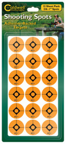"""Battenfeld Technologies Caldwell Non-Flake Shooting Spots 1"""" 216 Per Package"""