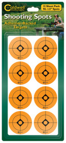 """Battenfeld Technologies Caldwell Non-Flake Shooting Spots 1.5"""" 96 Per Package"""