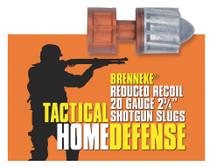 """Brenneke 2002925 Tact Home Defense 20ga Rifled Lead 2.75"""" 3/4oz Slug 5 Bx/50Cs"""