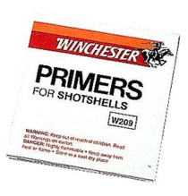 Winchester Primers Shotshell 209, 1000 Primers (10 Boxes of 100 Primers)
