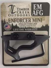 Timber Creek Enforcer Mini Angled Foregrip, Black