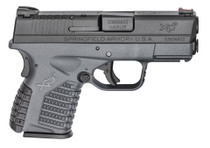 "Springfield Armory XD-S 9mm Tactical Gray 3.3"" Barrel Essentials Pkg 8rd Mag"