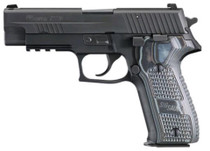 "Sig P226 Extreme 9mm 4.4"" Barrel Night, Sights, Nitron Finish, G10 Grip, 10rd Mag"