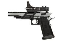 """SPS Vista Short Slide 9mm, 5"""" Barrel, Black Polymer Grip, Black/Chrome, 21rd"""