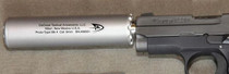 DeGroat Nano Silencer (Narrow Aperture Noise Obliterator), 9mm, 100% Titainium, 13.5x1mm LH TPI#2